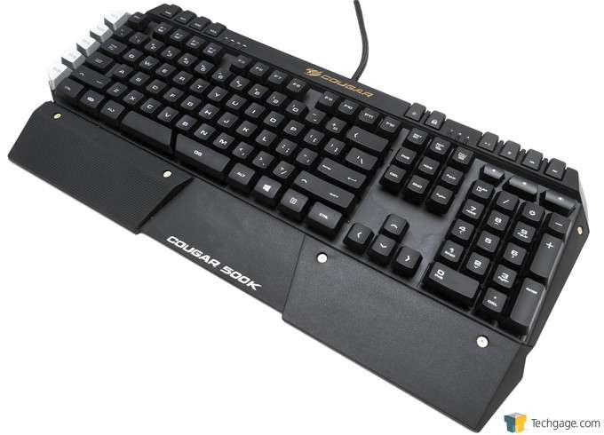 COUGAR 500K Gaming Keyboard Review