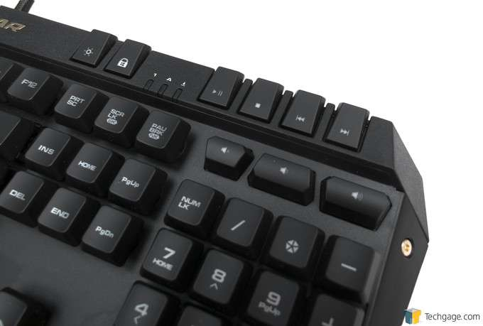 COUGAR 500K Gaming Keyboard - Media Keys