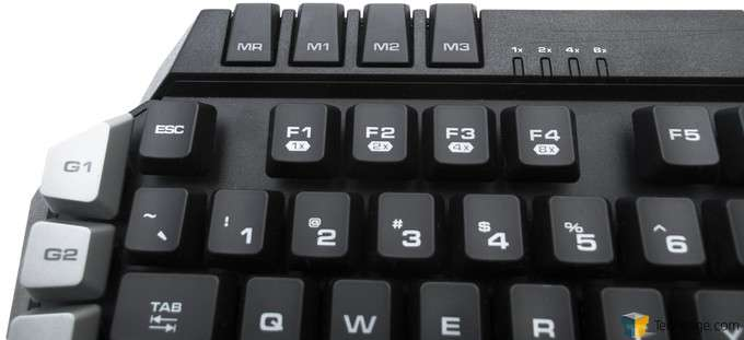 COUGAR 500K Gaming Keyboard - Profile and Turbo indicators