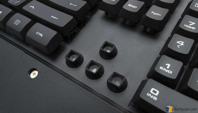 COUGAR 500K Gaming Keyboard - Rubber-Dome Membrane Keys