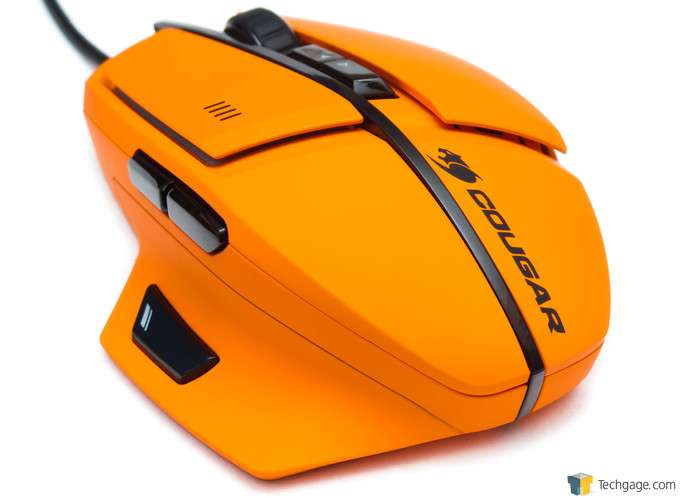 Cougar 600M Gaming Mouse - 3/4 Back