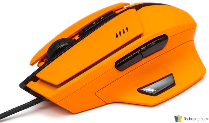 Cougar 600M Gaming Mouse - Thumb Side