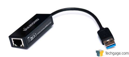 Diamond UE3000 USB 3 0 Gigabit Ethernet Adapter Review