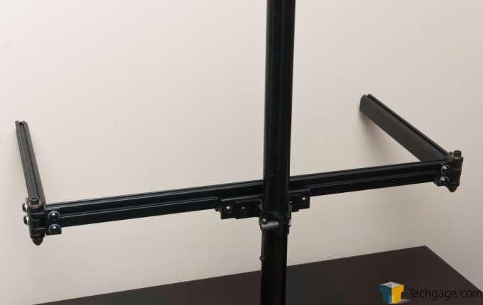 Ergotech Freedom Quad Desk Stand [100-D28-B13] - Installing the arm assembly