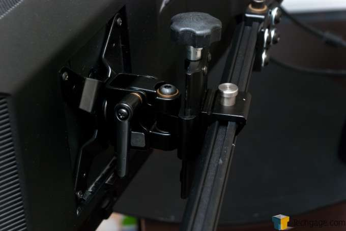 Ergotech Freedom Quad Desk Stand [100-D28-B13] - Side displays, advanced pivots