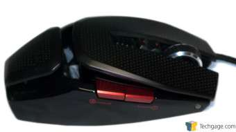 EXGA X10 TORQ Gaming Mouse Right Side