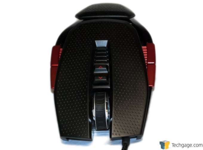 EXGA X10 TORQ Gaming Mouse Top Front