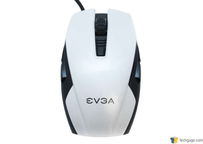 EVGA Torq X5 Gaming Mouse - Top-down View