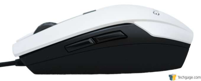 EVGA Torq X5 Gaming Mouse - Left Profile