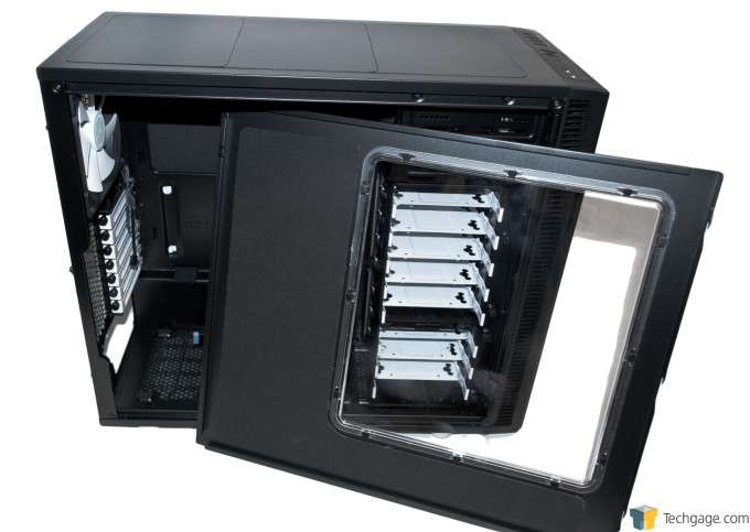 Fractal Design Define R5 Chassis - Inside