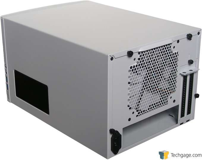 Fractal Design NODE 304 Chassis - Back Angle