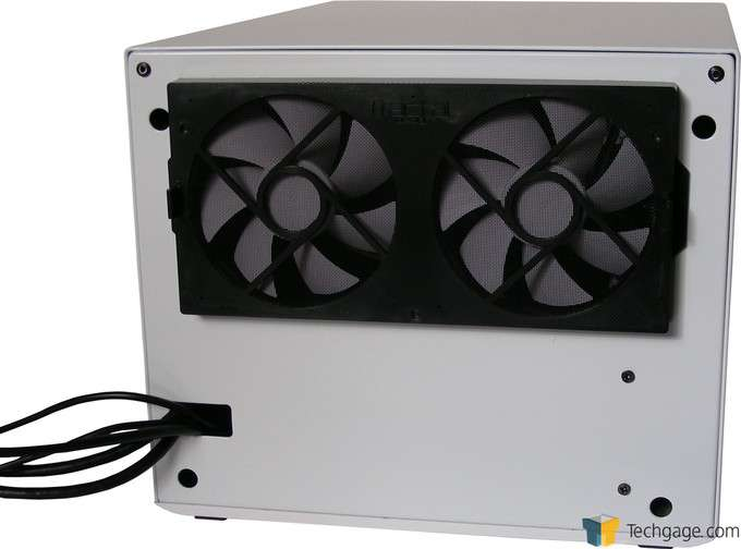 Fractal Design NODE 304 Chassis - Back Fans
