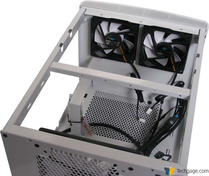 Fractal Design NODE 304 Chassis - Interior Layout