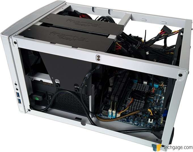 Fractal Design NODE 304 Chassis - Hardware Installed