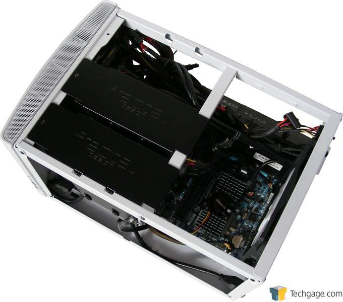 Fractal Design NODE 304 Chassis - Hardware Installed Top