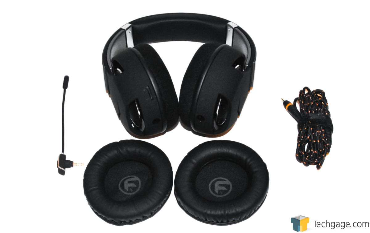 Reviews >> Techgage Image - Func HS-260 Gaming Headset - Package Contents