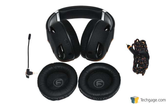 Func HS-260 Gaming Headset - Package Contents