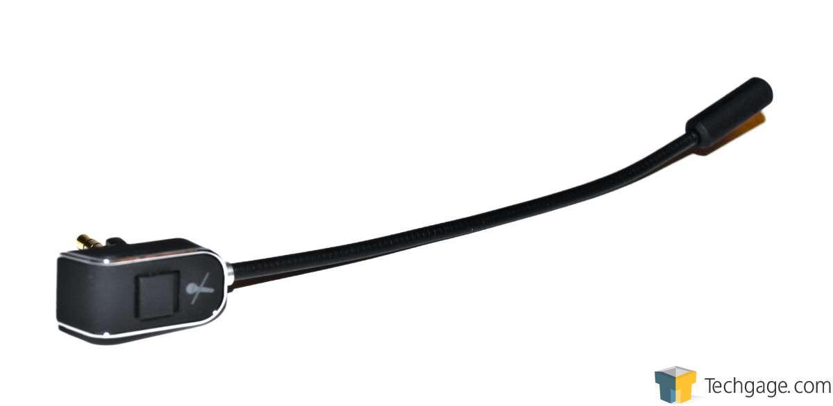 Reviews >> Techgage Image - Func HS-260 Gaming Headset - Mic Stalk