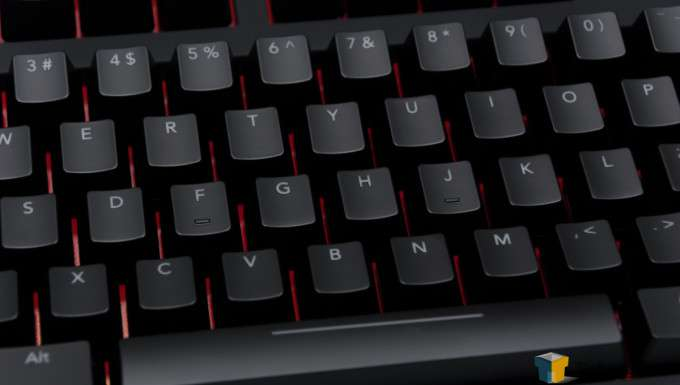 Func KB-460 Gaming Mechanical Keyboard - Keys Close-up