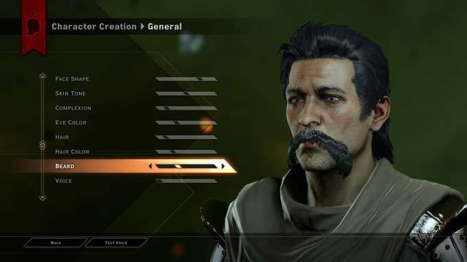 Dragon Age Inquisition Created Characters Dragon Age Inquisition