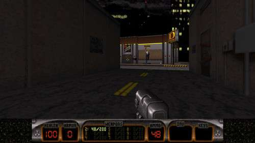 Duke Nukem 3D - Atomic Edition: Duke-Burger