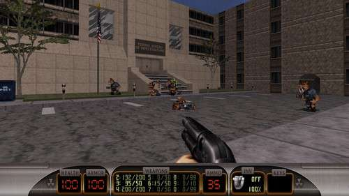 Duke Nukem 3D - Megaton Edition: Duke it out in DC