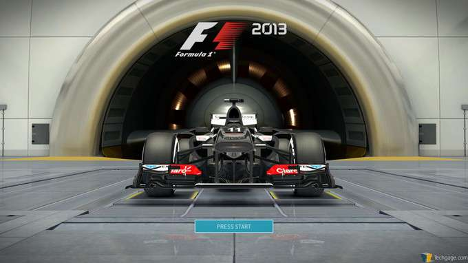 F1 2013 Classic Edition - Start Screen