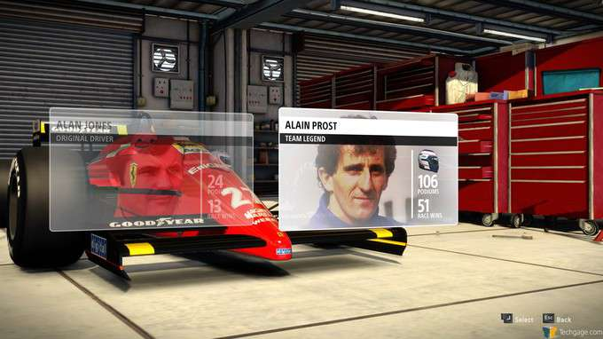 F1 2013 Classic Edition - Legendary Drivers