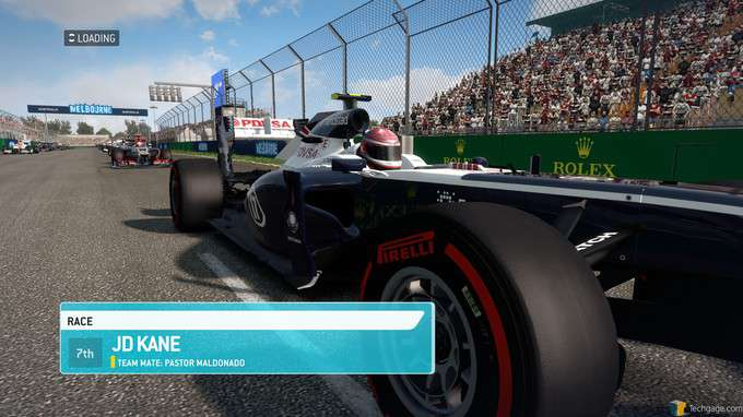 F1 2013 Classic Edition - Melbourne Start