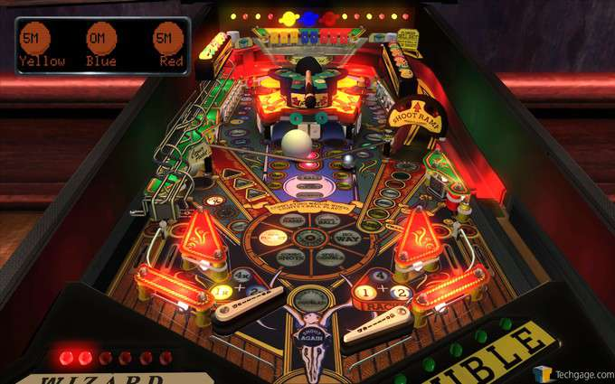 The Pinball Arcade - Cue Ball Wizard