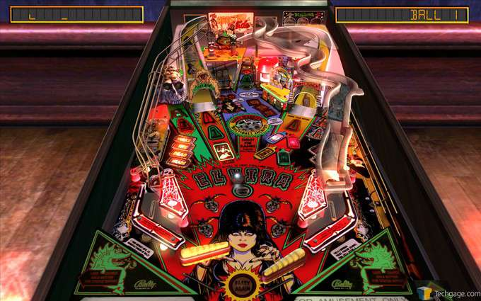 The Pinball Arcade - Elvira and the Party Monsters