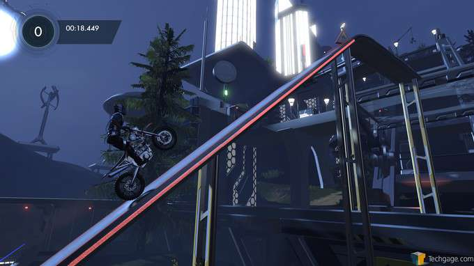 Trials Fusion - Steep Driving