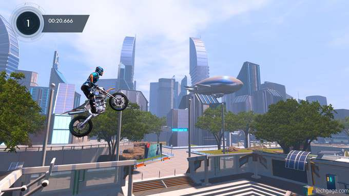 Trials Fusion - Nice Day for the Park