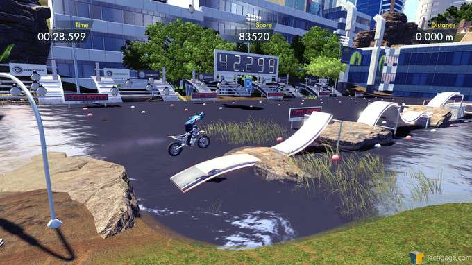 Trials Fusion - Obstacle Course