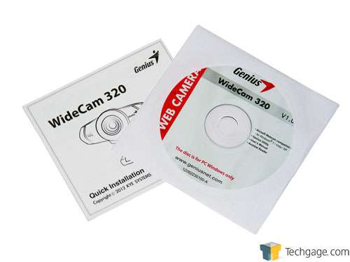 Genius WideCam 320 Webcam