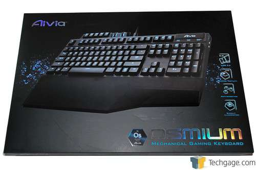 GIGABYTE Aivia Osmium Mechanical Gaming Keyboard