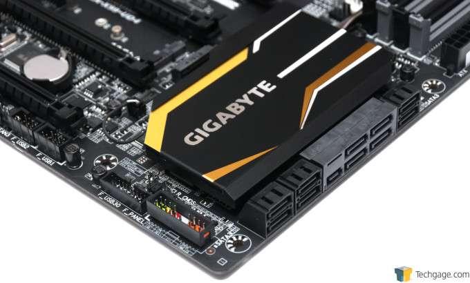 GIGABYTE X99-UD4 Motherboard - SATA & I/O Connectors