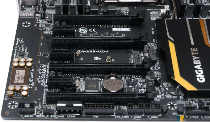 GIGABYTE X99-UD4 Motherboard - PCI Express Slots