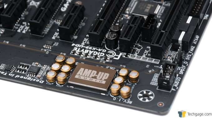 GIGABYTE X99-UD4 Motherboard - Audio Solution