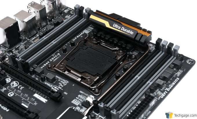 GIGABYTE X99-UD4 Motherboard - CPU & DRAM Area