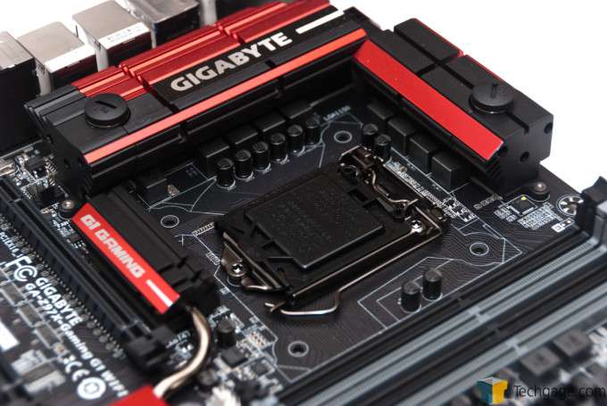 GIGABYTE Z97X-Gaming G1 WIFI-BK - CPU Socket Area