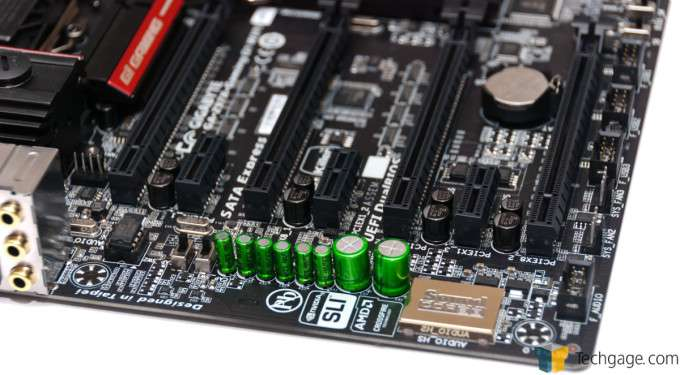 GIGABYTE Z97X-Gaming G1 WIFI-BK - Onboard Creative Sound Card
