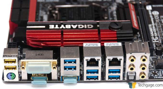 GIGABYTE Z97X-Gaming G1 WIFI-BK - I/O Panel