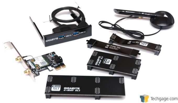 GIGABYTE Z97X-Gaming G1 WIFI-BK - Accessories