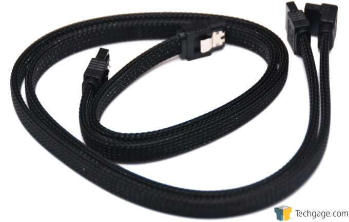 GIGABYTE Z97X-Gaming G1 WIFI-BK - Sleeved SATA Cable