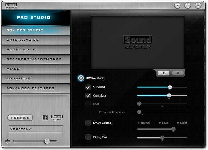 GIGABYTE Z97X-Gaming G1 WIFI-BK Software - Main Screen