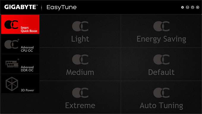 GIGABYTE Z97X-Gaming G1 WIFI-BK Software - EasyTune
