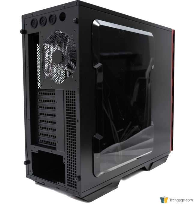 In Win 707 Full-tower Chassis - Rear 3/4