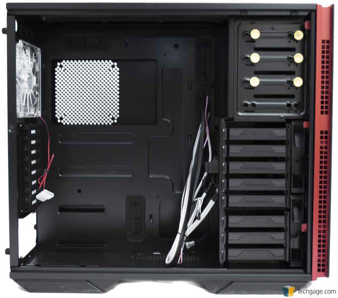 In Win 707 Full-tower Chassis - Interior