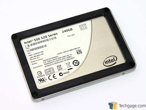 Intel 520 240GB Solid-State Drive